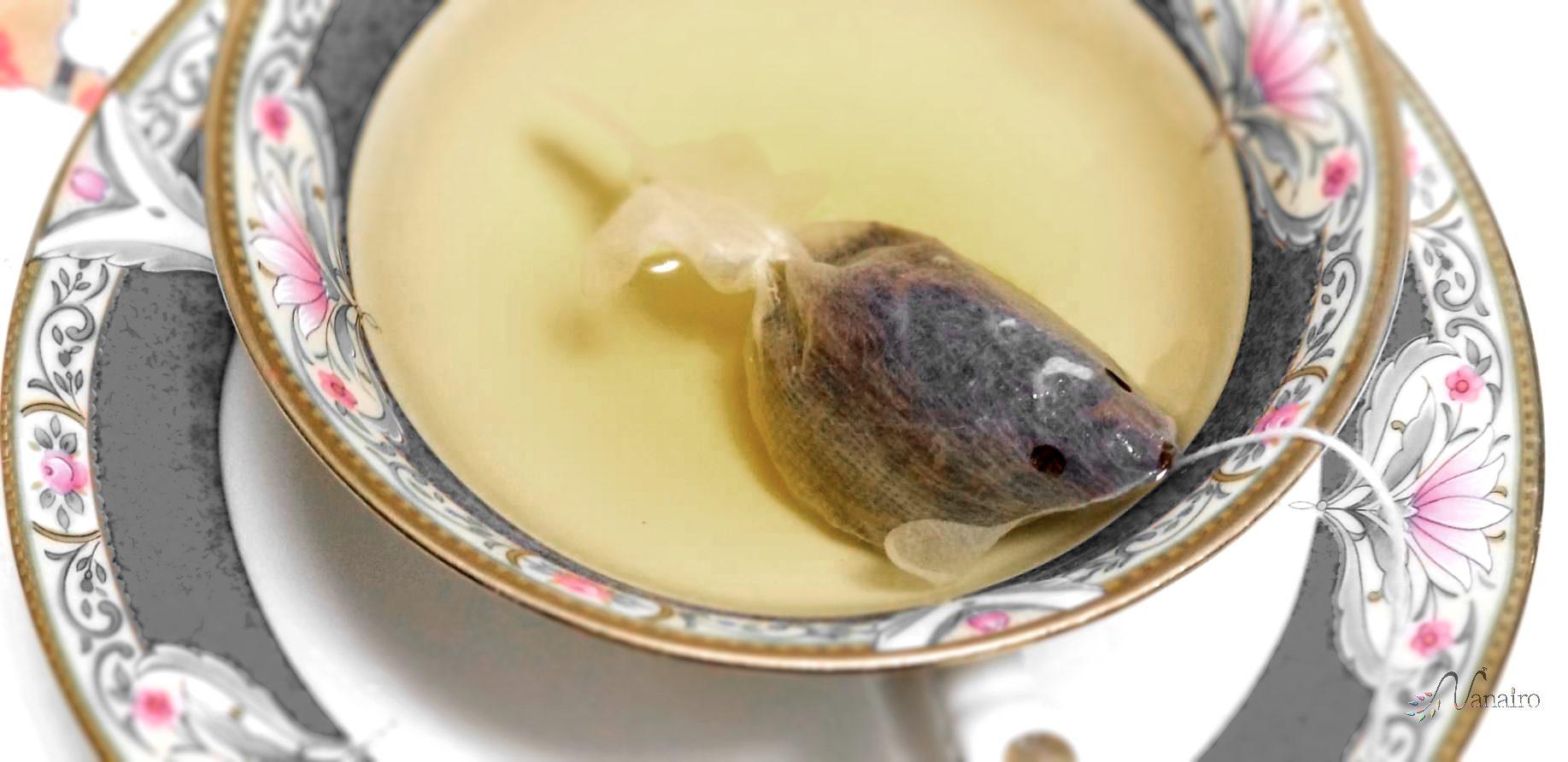 おすすめのお土産 CHARM VILLAの『金魚のティーバッグ』