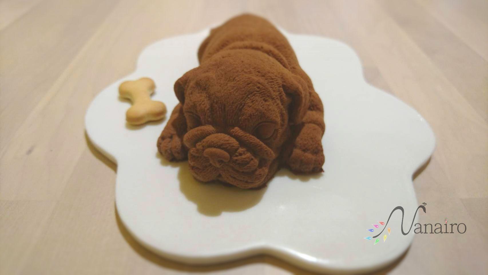 台湾で話題!リアルな犬ケーキ